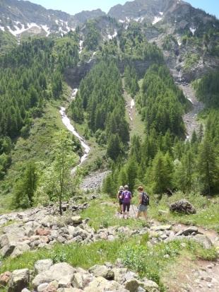 Randonnées alpes accompagnée
