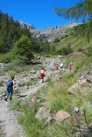 randonnée accompagnée dans les alpes du sud