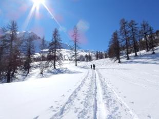 Séjour rando l'hiver dans les alpes du sud