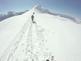 Séjour rando hiver dans les hautes-Alpes